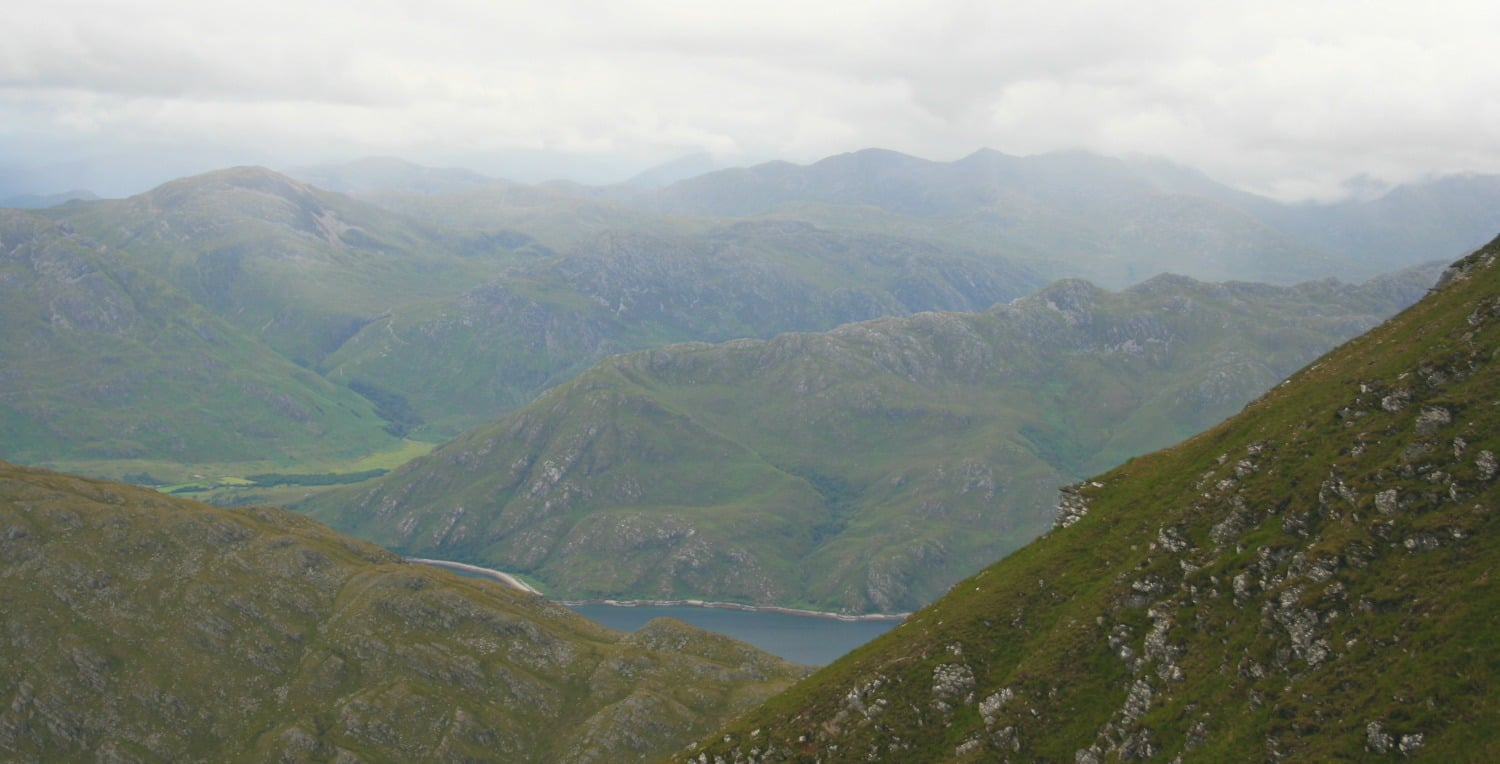 On the slopes of Ladhar Bhein, on the edge of the Rough Bounds of Knoydart