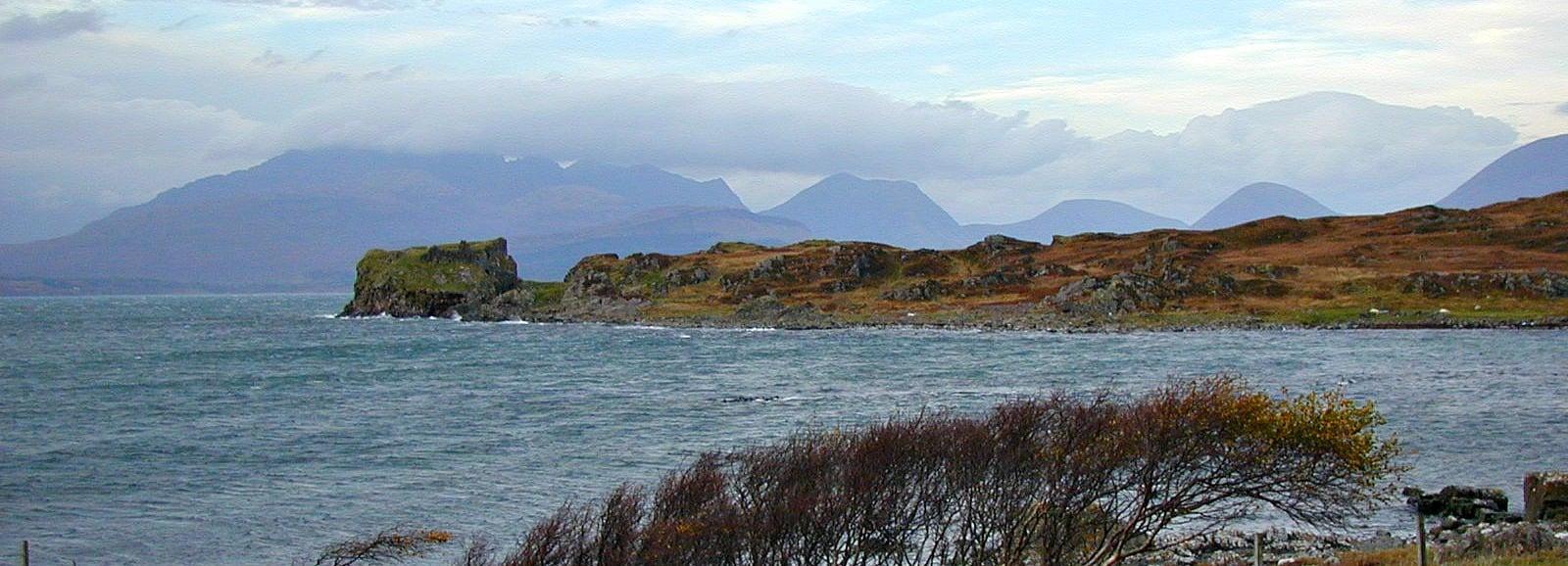 Duntumn Castle, Isle of Skye