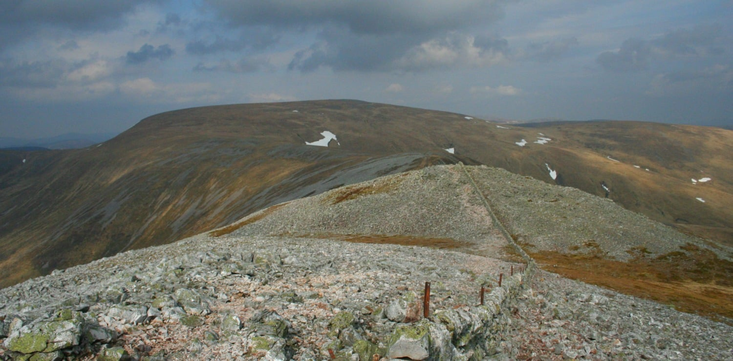 Glas Maol from the route to Creag Leacach