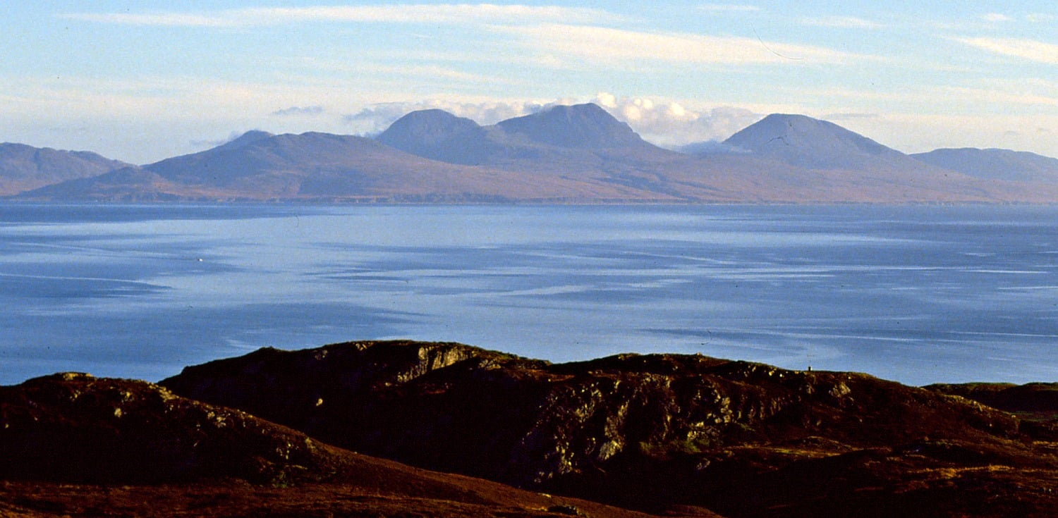 Paps of Jura from the Isle of Colonsay