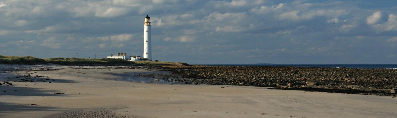 Barns Ness Lighthouse, East Lothian