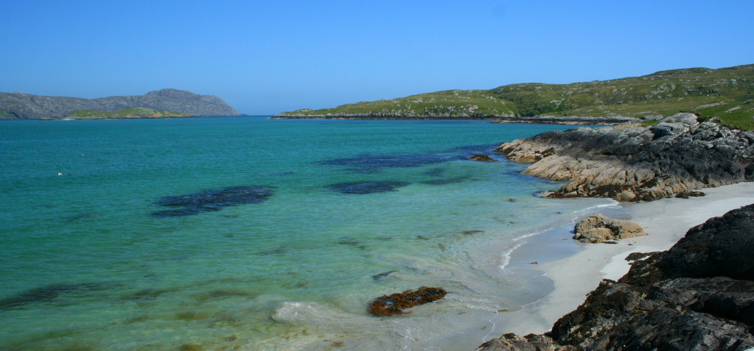 Sound of Eriskay, with South Uist on the left