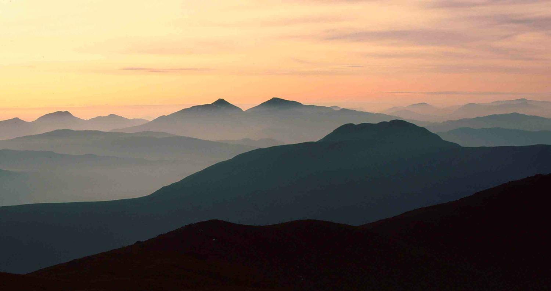Ben Ledi sunset - midsummer