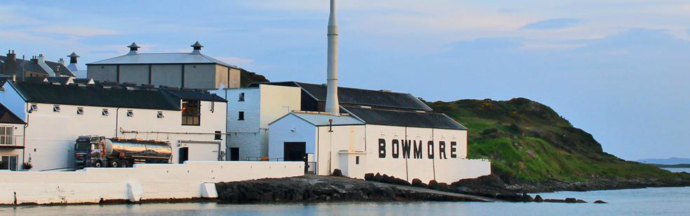 Bowmore distillery on the Isle of Islay