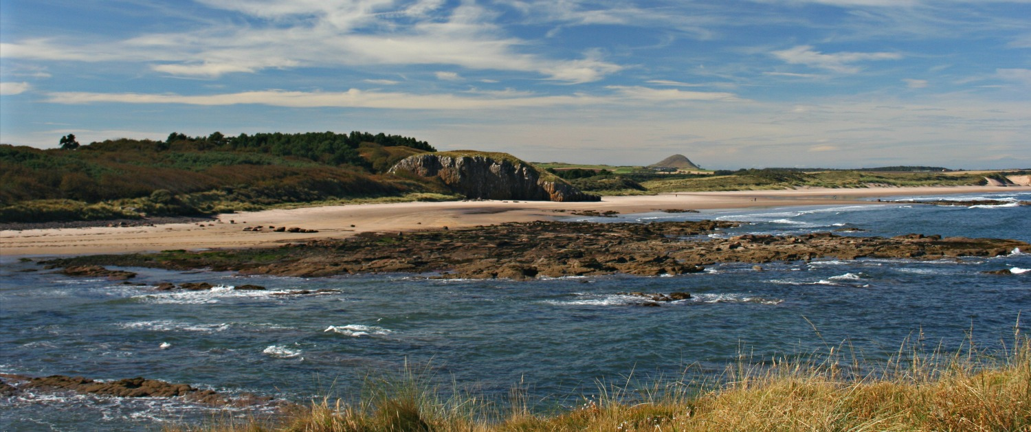 Beaches of East Lothian - near the city but not crowded.