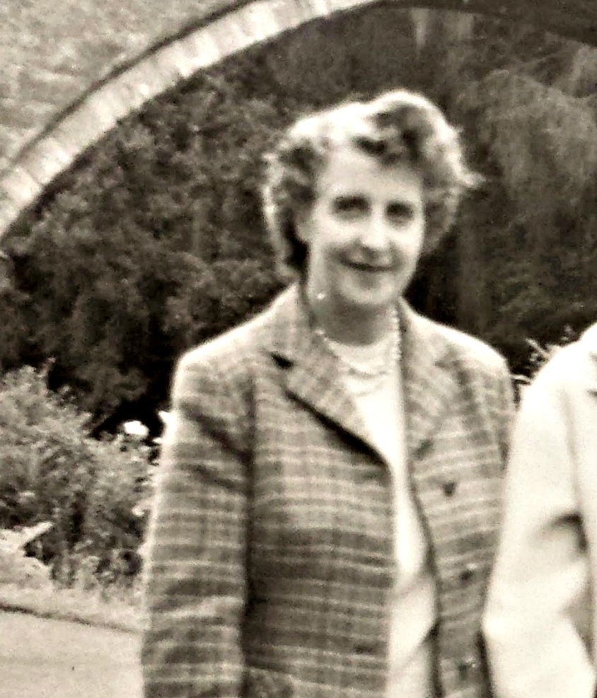 Flora Macdonald - Johanna's Granny - pictured in the 1950s.