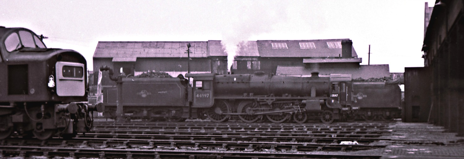 Stanier Black 5 44997 at Ferryhill Shed.