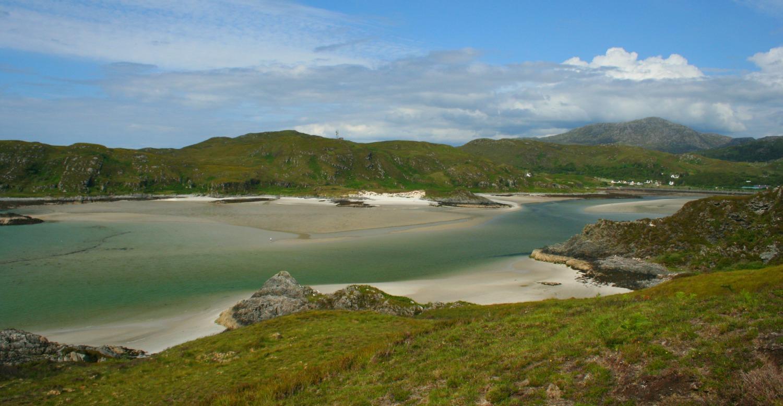 Silver Sands or White Sands of Morar.