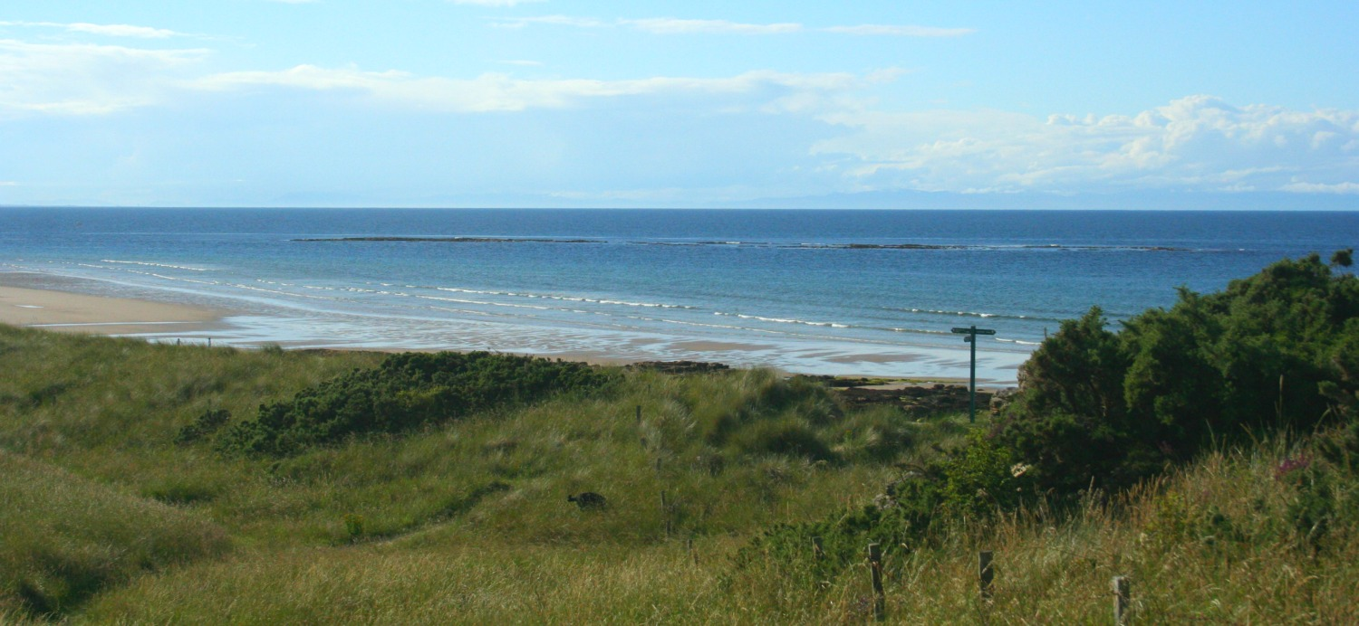 Beach at Covesea, west of Lossiemouth, Moray Firth.