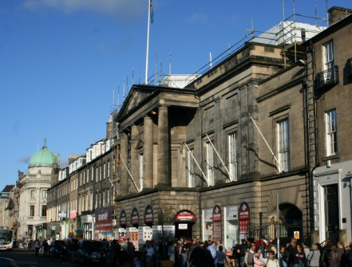 Assembly Rooms, George Street, New Town of Edinburgh