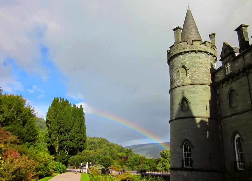 Inveraray Castle, seat of the Dukes of Argyll