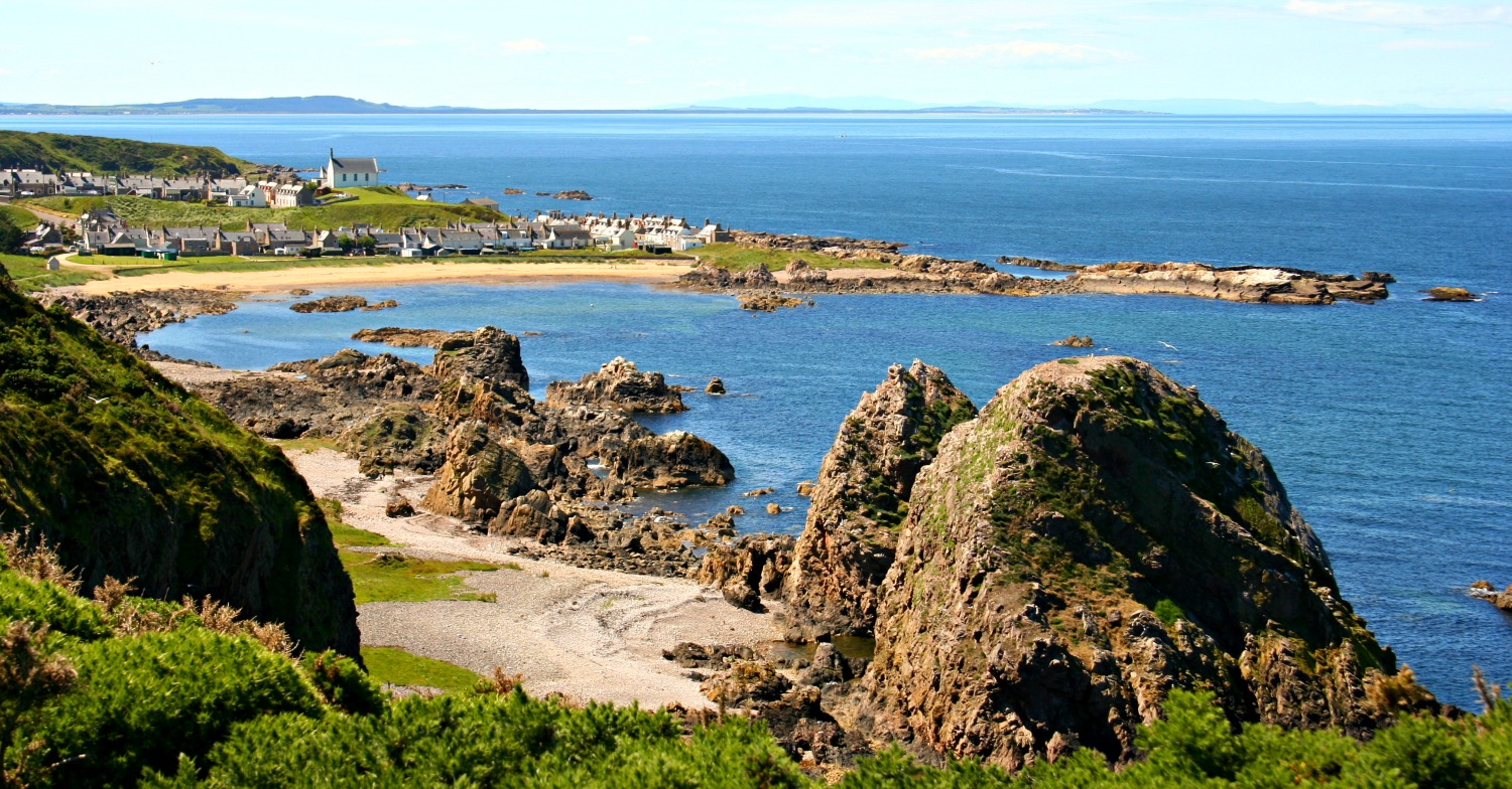 Summer on the Moray Firth - Findochty