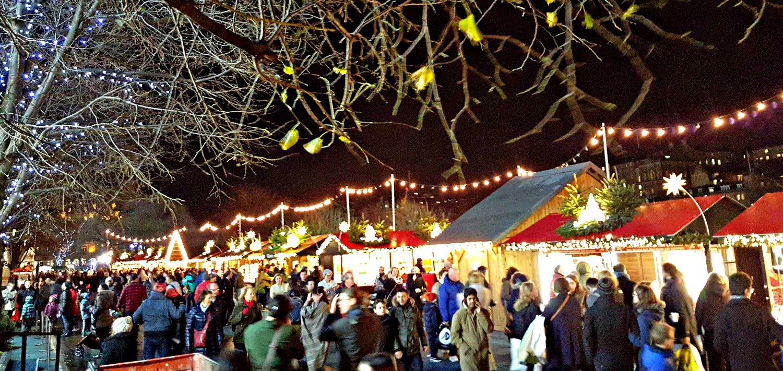 Edinburgh Christmas Market - December