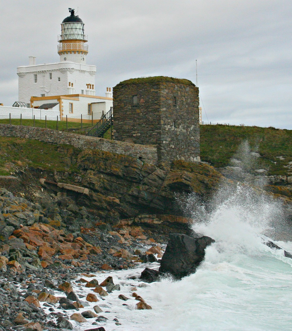 Kinnaird Head Lighthouse in Fraserburgh, now the Museum of Scottish Lighthouses.