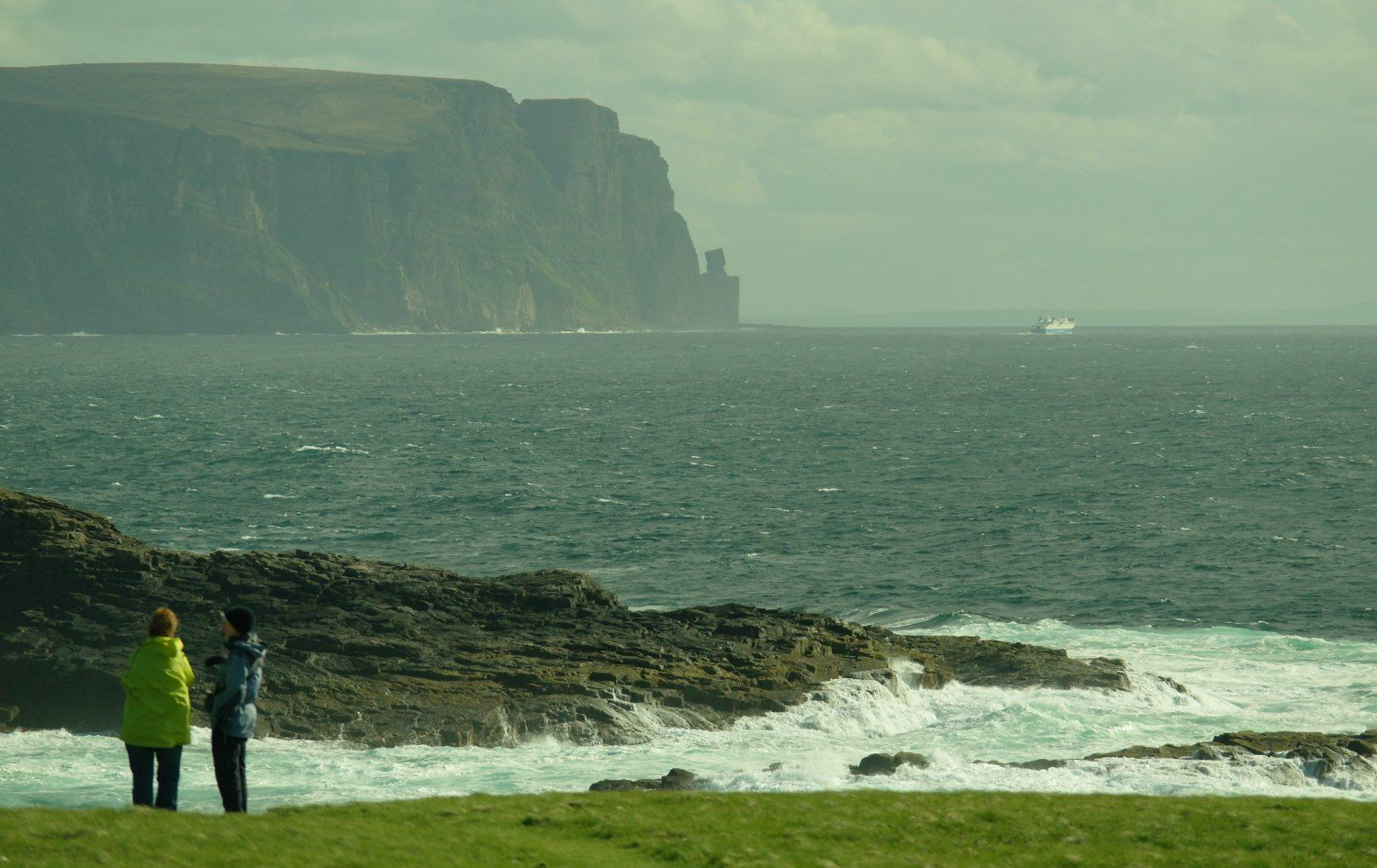HOY CLIFFS FROM YESNABY, ORKNEY