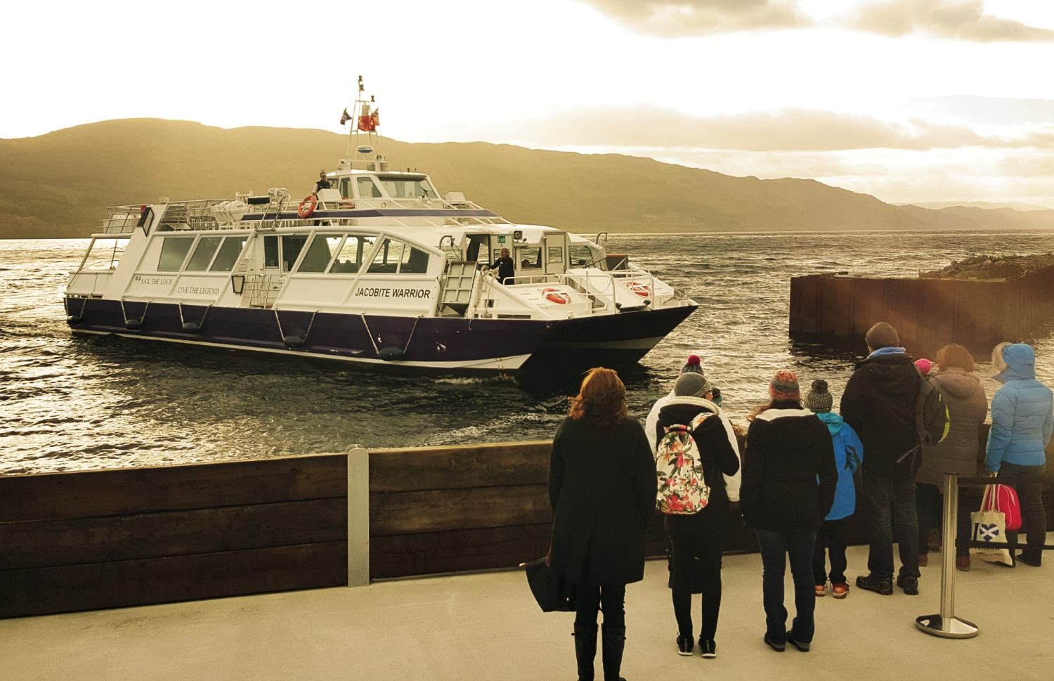 Jacobite Cruises on Loch Ness