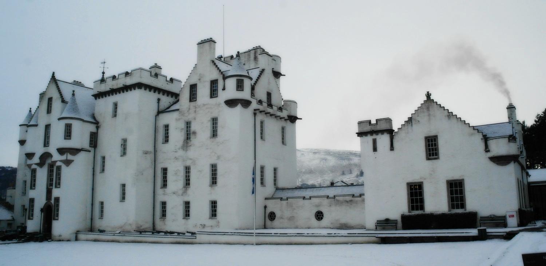 Blair Castle in winter