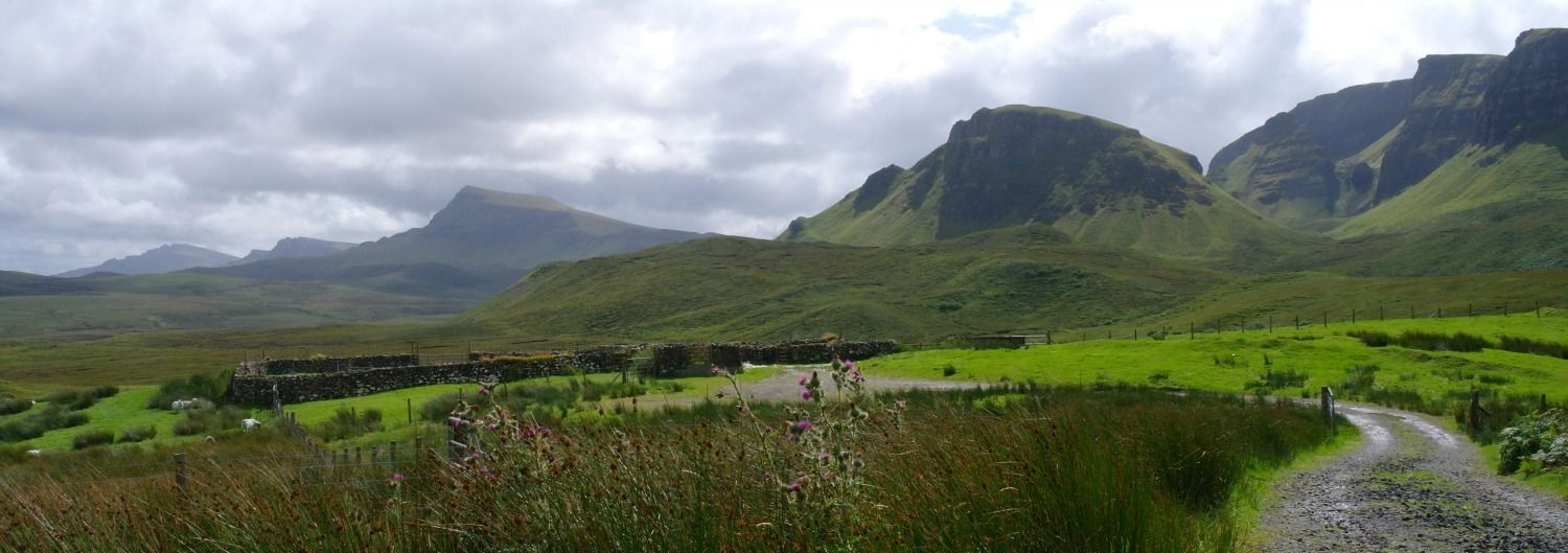 Trotternish Ridge, Isle of Skye, near Staffin.