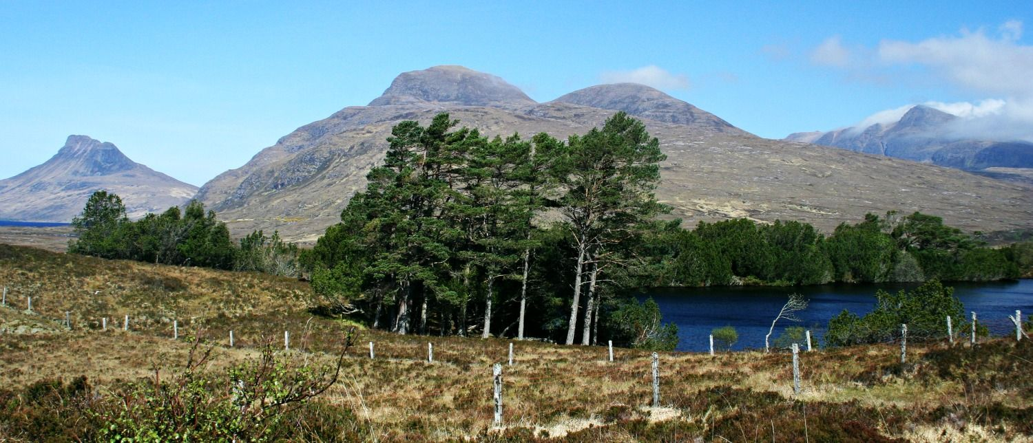 The peaks of Inverpolly, North-West Highlands