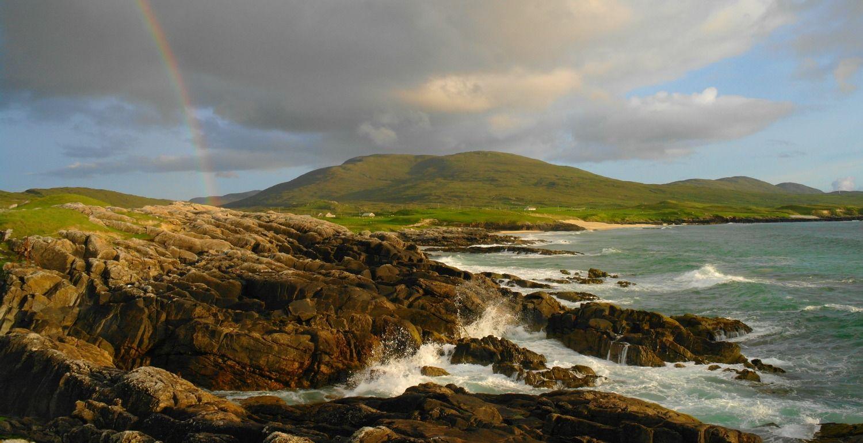 Near Borve, west coast, Isle of Harris. Fine beaches nearby.