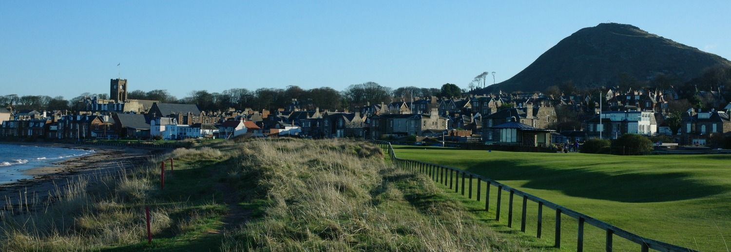 North Berwick, East Lothian, early December. Easy to reach from Edinburgh at any time of year.