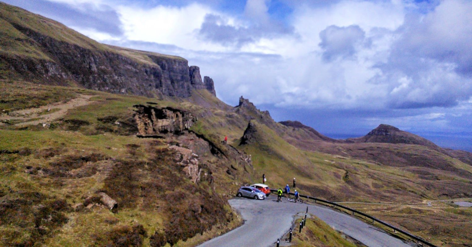 Quirang - Isle of Skye. Another well-known and popular part of Scotland. Yes, it can get quite busy here!