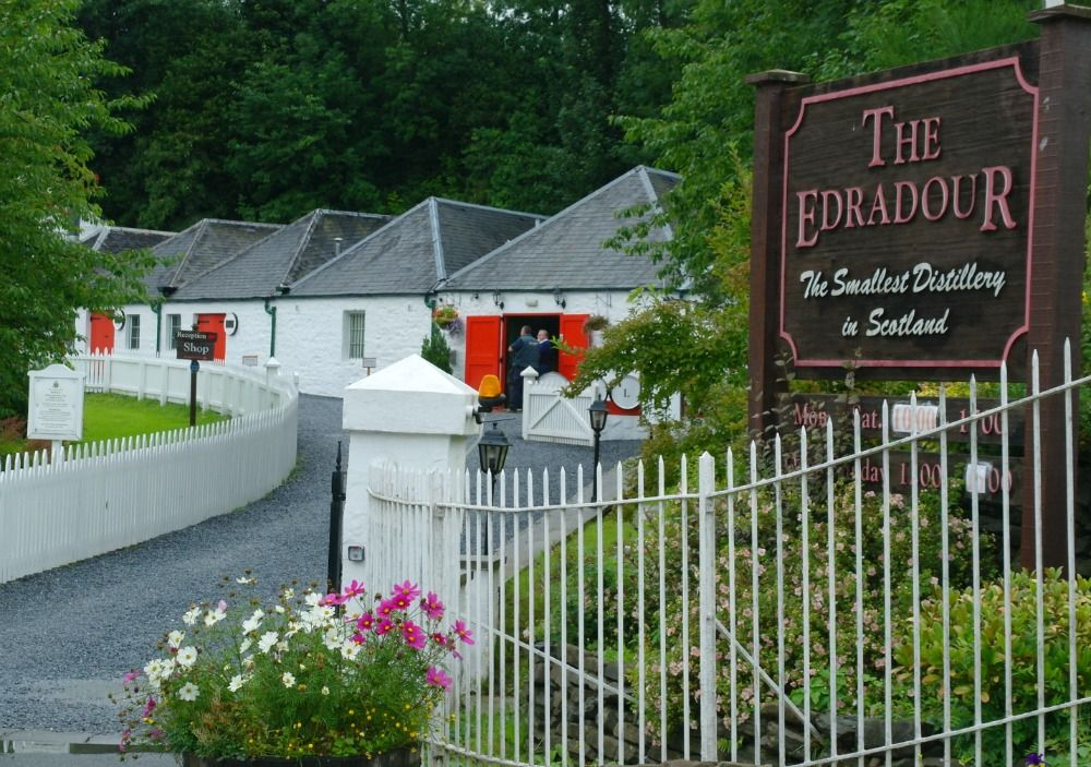 Edradour - the smallest distillery in Scotland