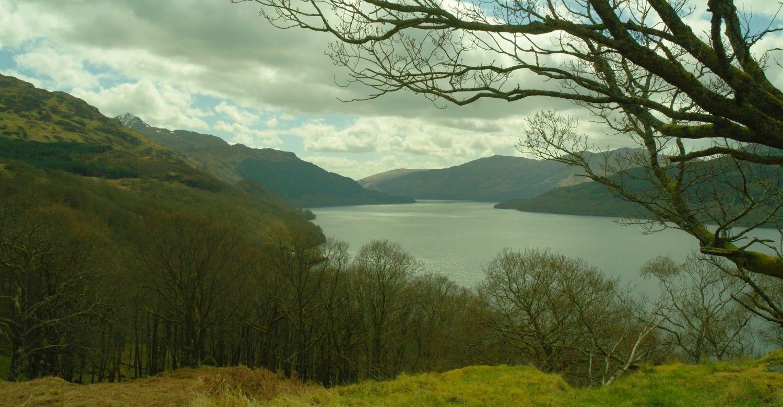 Loch Lomond in a late spring