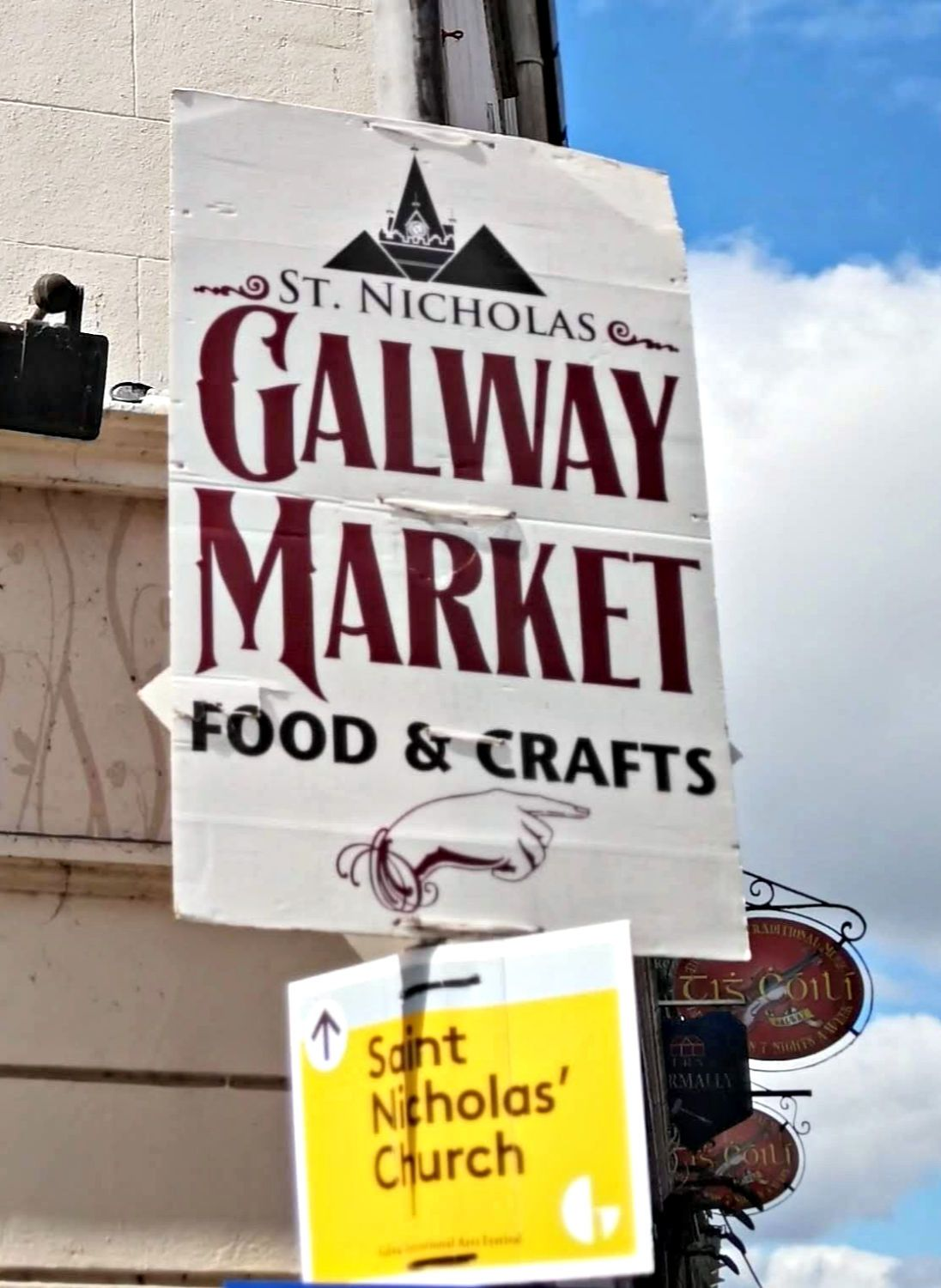 Food, fresh fish, fairies and lots more at the Galway market.
