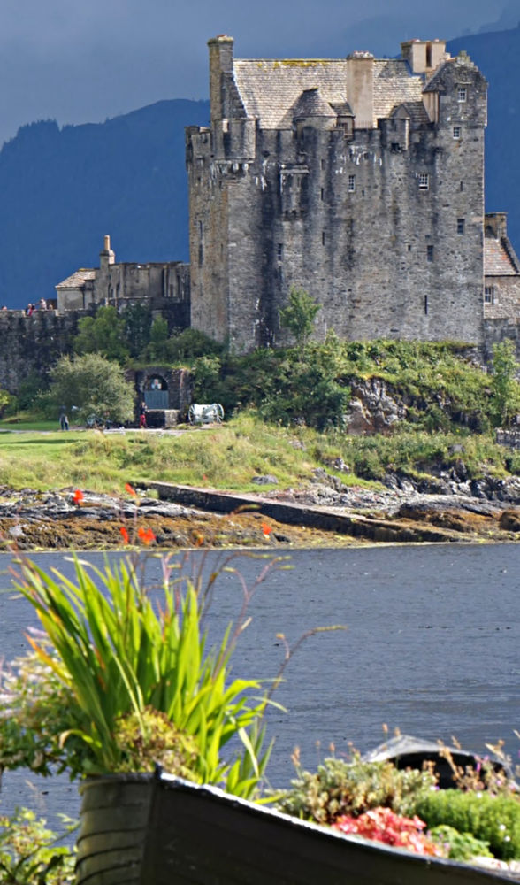 Eilean Donan Castle, on the road to the Isle of Skye.