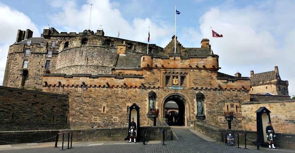 Edinburgh Castle - the heart of Scotland's capital and still a favourite with first-time visitors especially.