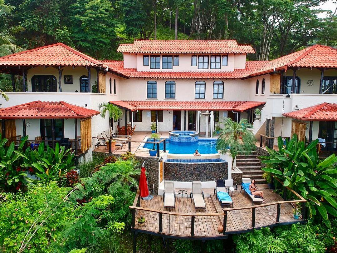 Casa Marbella, Santa Teresa Costa Rica….photo by @costarica_fromabove