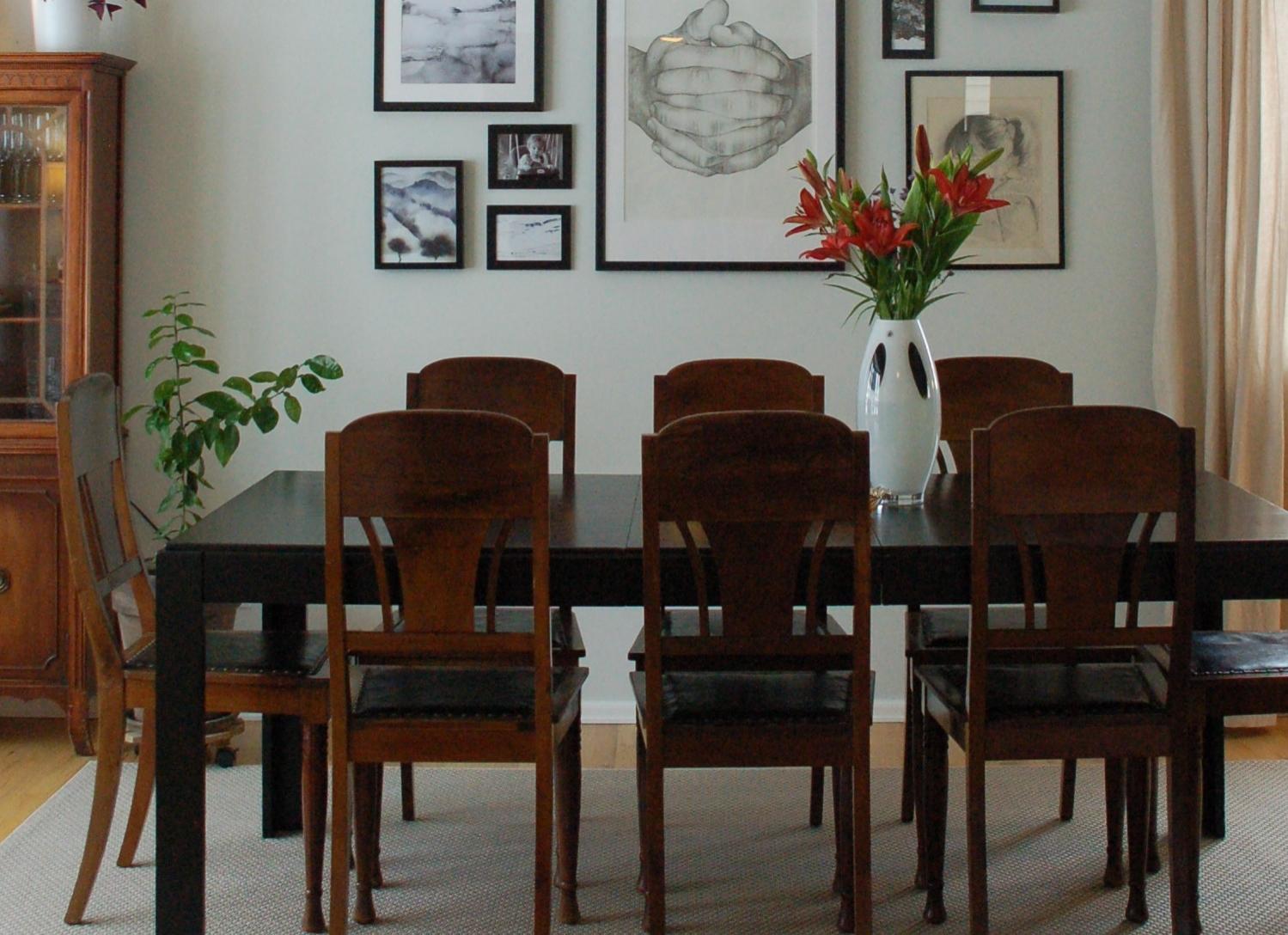 Dining room makeover at Scandimericanlife.com
