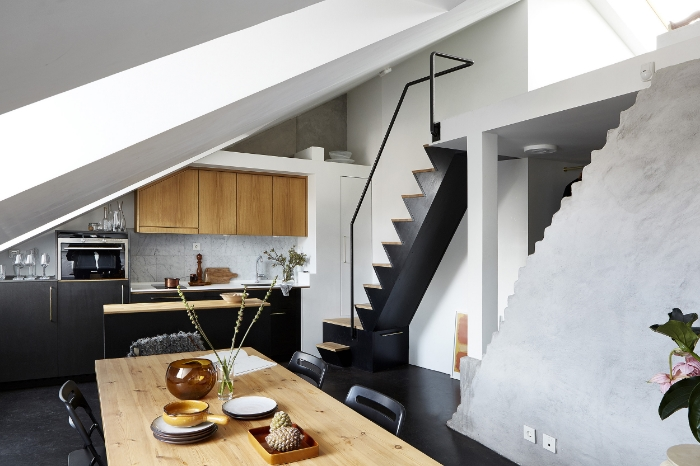 Amazing use of small space. More on Scandimericanlife.com