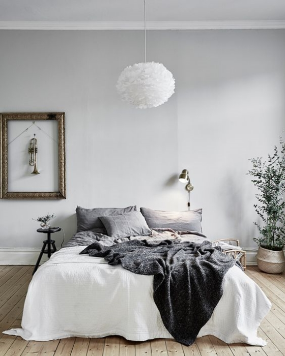 Grey bedrooms to dream about