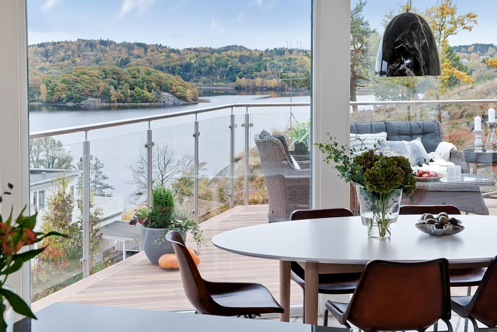 A Scandinavian take on interior and architectural deluxe.