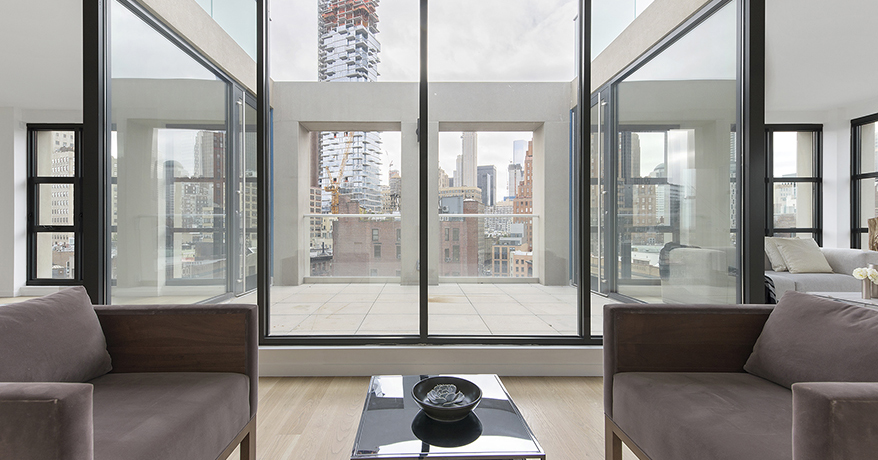 Exclusive NY Penthouse stunning in it's simplicity