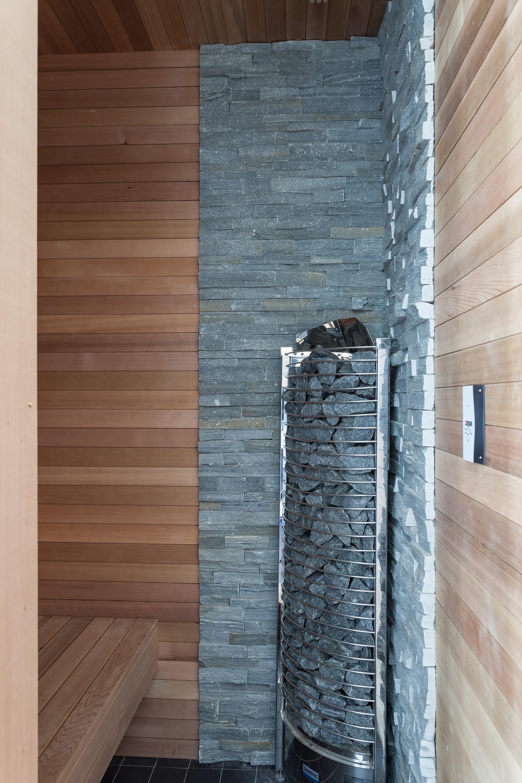 This beautiful Stockholm apartment even has a tiny sauna!