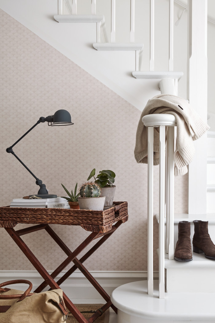 A new collection of wallpaper inspired by New England authors from Borastapeter in collaboration with Lexington.