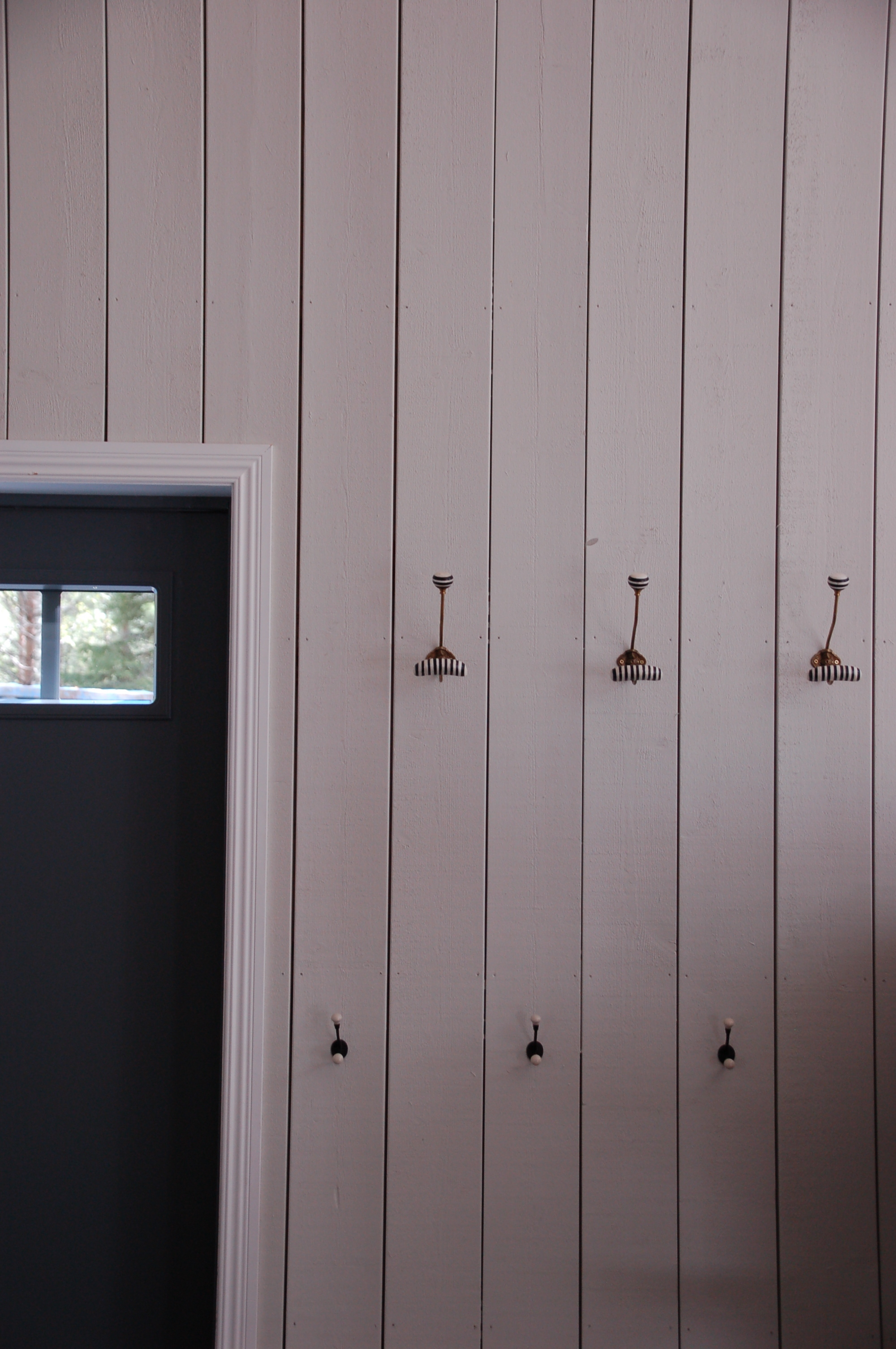 And then we're back at the entrance again. Hooks from  Anthropologie .