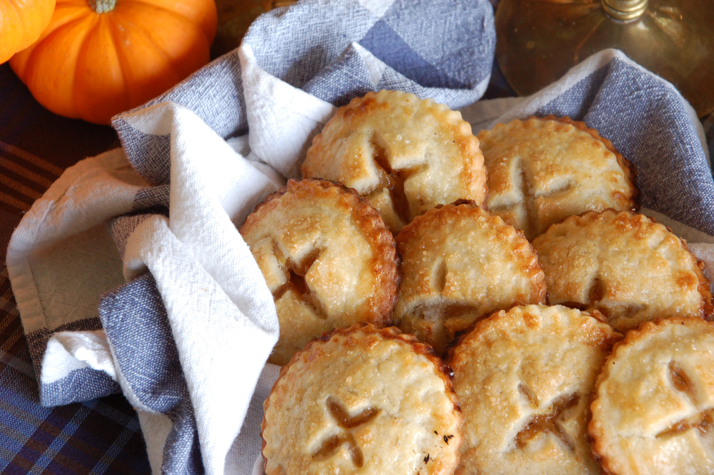 These little hand apple pies are perfect to bring along.