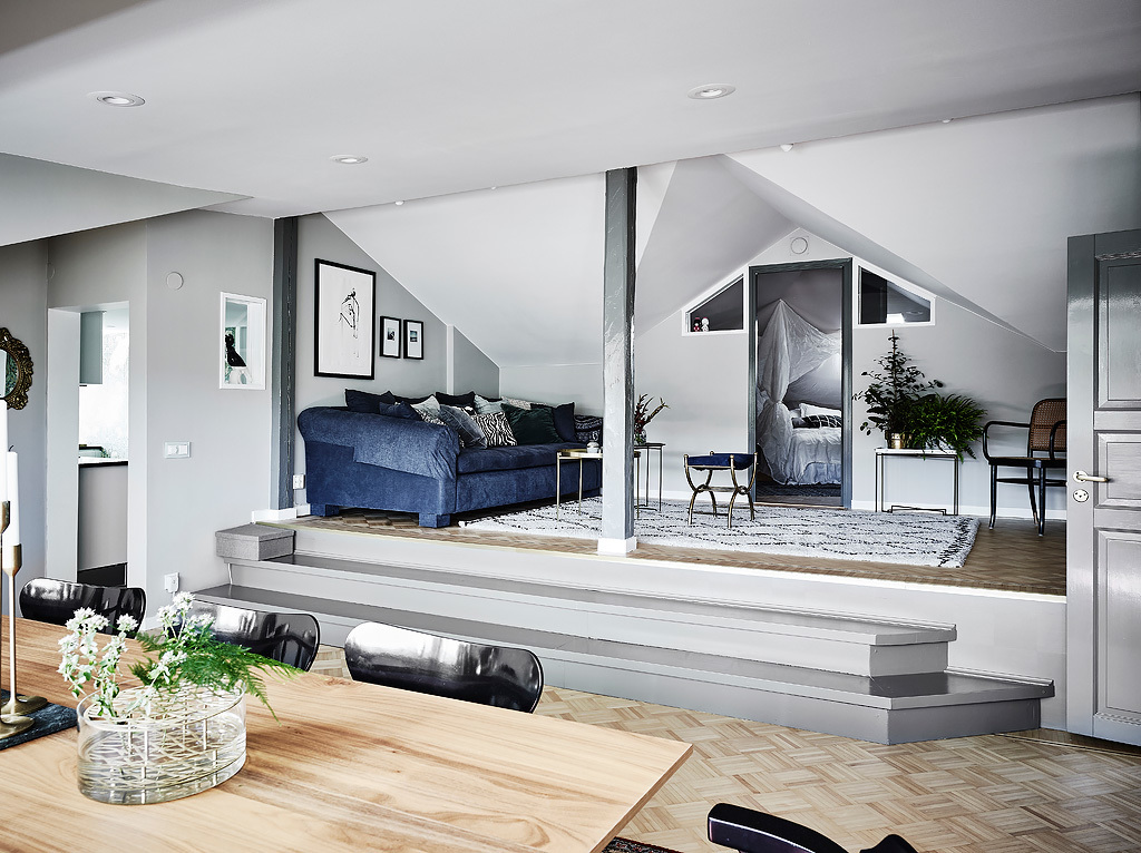 Beautiful Scandinavian apartment.