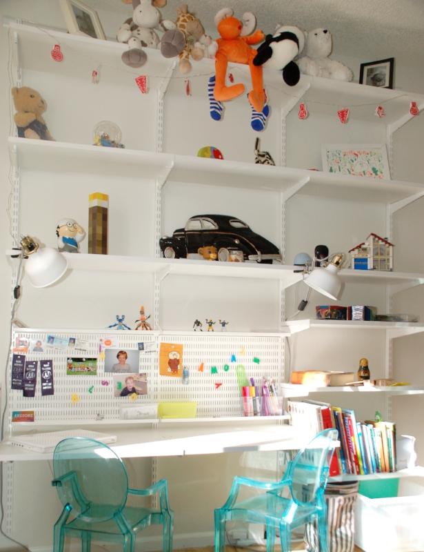 Real home - boys room.