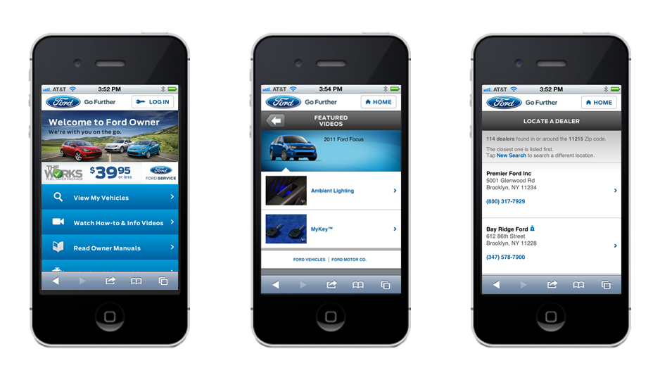 Ford Owner Mobile Experience
