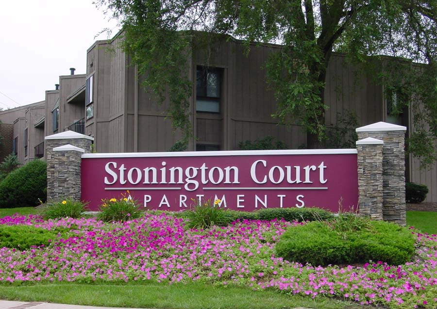 Stonington Court Apartments   Lindenwold, NJ    ©2016 PMDI Signs