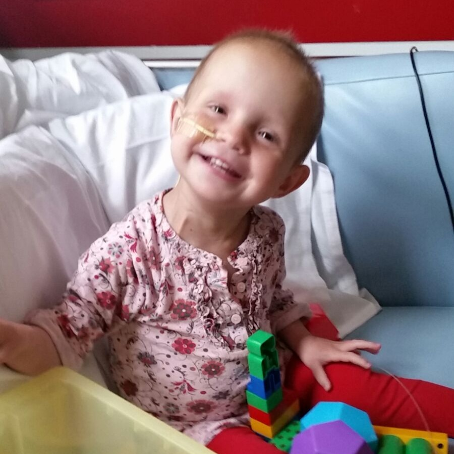 """""""During treatment, Florence was still vibrant with a smile on her face…"""""""