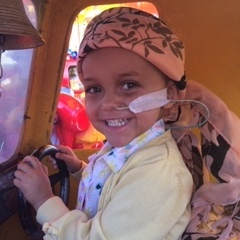 Evie's chemotherapy cycle lasted for 80 days.