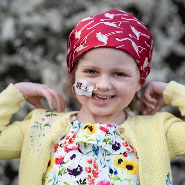 Tracey was inspired by Siobhan, who was diagnosed with neuroblastoma aged two.