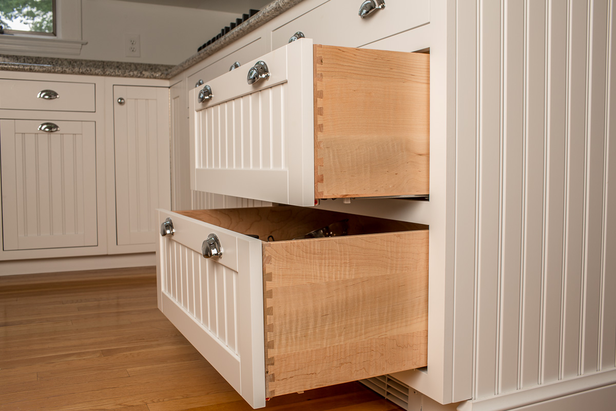 Dove-Tailed Custom Cabinet Drawers