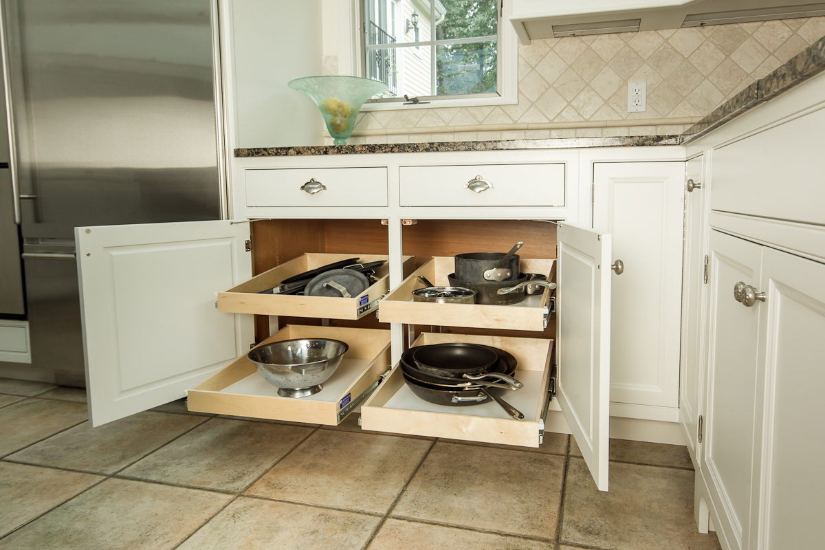 Custom Kitchen Storage Upgrades